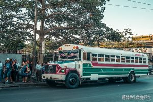 Panama City Chickenbus Backpacker Backpacking Travel 2