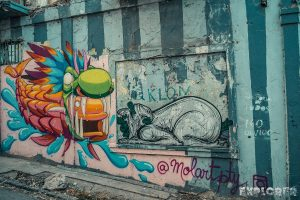 Panama City Graffiti Backpacker Backpacking Travel 3