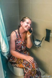 Panama City Hotel Telephone Backpacking Backpacker Travel