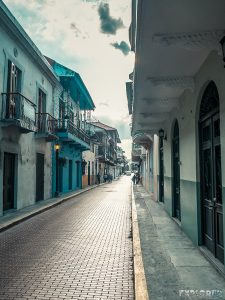 Panama City Pedestrian Street Market Backpacker Backpacking Travel
