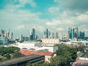 Panama City Skyline Backpacking Backpacker Travel