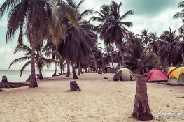 Panama San Blas Kuna Yala Chichime Tents Backpacking Backpacker Travel