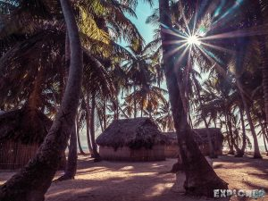 Panama San Blas Kuna Yala Isla Aroma Huts Backpacking Backpacker Travel