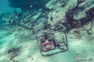 Panama San Blas Kuna Yala Isla Perro Dog Island Steamboat Wreck Motor Snorkeling Backpacking Backpacker Travel
