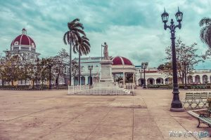 cuba cienfuegos Parque Jose Marti backpacker backpacking travel