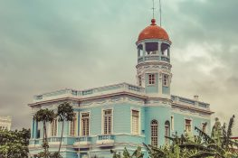 cuba cienfuegos colonial buildings backpacker backpacking travel