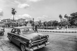 cuba havana Parque de la Fraternidad oldtimer backpacker backpacking travel