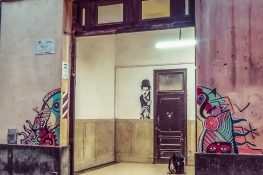 cuba havana charlie chaplin graffiti backpacker backpacking travel