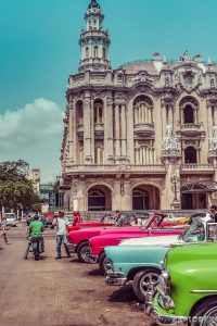 cuba havana gran teatro de la habana oldtimer backpacker backpacking travel