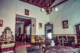 cuba trinidad casa particular jesus fernandez living room backpacker backpacking travel
