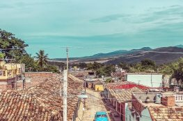 cuba trinidad casa particular jesus fernandez roof backpacker backpacking travel