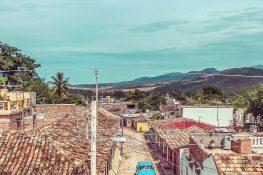 cuba trinidad casa particular jesus fernandez roof backpacker backpacking travel