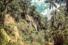 cuba trinidad topes de collantes el rocio waterfall backpacker backpacking travel
