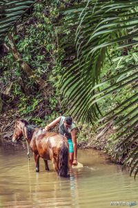cuba vinales countryside horse backpacker backpacking travel