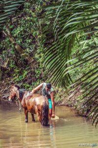 cuba vinales countryside horse backpacker backpacking travel