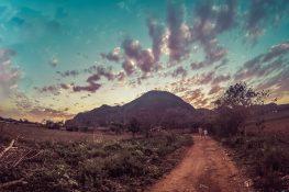 cuba vinales sunset backpacker backpacking travel
