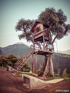 Ecuador Banos Casa de Arbol Backpacking backpacker Travel
