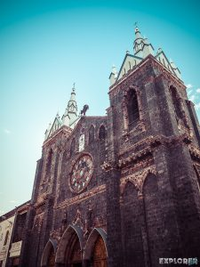Ecuador Banos Church Backpacking backpacker Travel