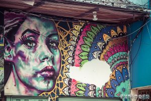 Ecuador Banos Graffiti Backpacking Backpacker Travel