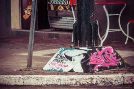 Ecuador Banos Graffiti Backpacking backpacker Travel