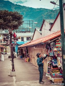 Ecuador Banos Market Backpacking Backpacker Travel