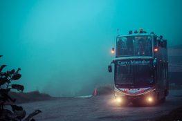 Ecuador Banos Mirador Bus backpacker backpacking travel