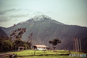 Ecuador Banos Mirador Morning Backpacking backpacker Travel