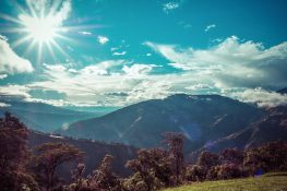 Ecuador Banos Mirador backpacker backpacking travel