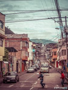 Ecuador Banos Streets Backpacking Backpacker Travel