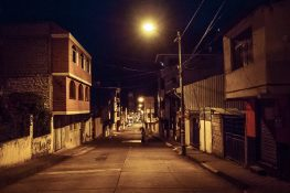 Ecuador Banos Streets Early Morning Backpacking backpacker Travel