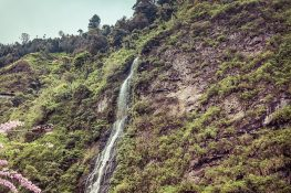 Ecuador Banos Waterfall Backpacking backpacker Travel