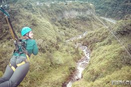 Ecuador Banos Ziplining Backpacking Backpacker Travel