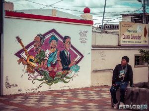 Ecuador Cotacachi Graffiti Backpacking Backpacker Travel