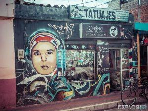 Ecuador Cotacachi Graffiti Backpacking Backpacker Travel