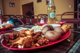 Ecuador Cotacachi Lunch Backpacking Backpacker Travel