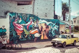 Ecuador Ibarra Graffiti Backpacker Backpacking Travel