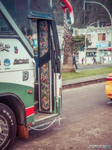 Ecuador Otavalo Bus Backpacking Backpacker Travel