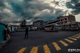 Ecuador Otavalo Bus Station Backpacker Backpacking Travel