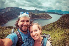 Ecuador Otavalo Laguna Cuicocha Backpacking Backpacker Travel