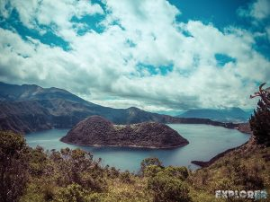 Ecuador Otavalo Laguna Cuicocha Backpacking Backpacker Travel
