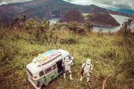 Ecuador Otavalo Laguna Cuicocha Surfing Stormtrooper Backpacking Backpacker Travel