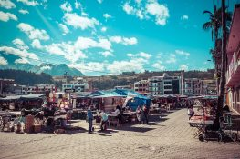 Ecuador Otavalo Market Backpacker Backpacking Travel