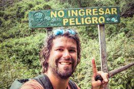 Ecuador Otavalo Peguche Backpacker Backpacking Travel
