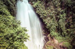 Ecuador Otavalo Peguche Waterfall Backpacker Backpacking Travel
