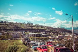 Ecuador Route Banos Latacunga Market Backpacking Backpacker Travel