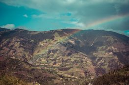 Ecuador Route Banos Latacunga Rainbow Backpacking Backpacker Travel