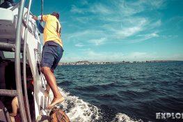 Ecuador Santa Cruz Galapagos Gordon Rocks Scuba Diving Backpacking Backpacker Travel