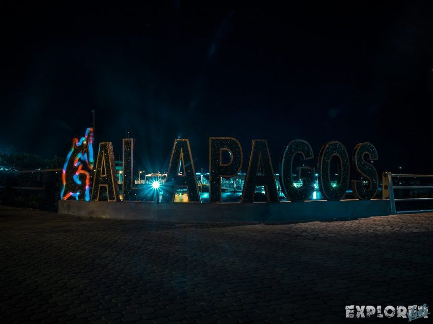 Ecuador Santa Cruz Galapagos Lightpainting Backpacking Backpacker Travel