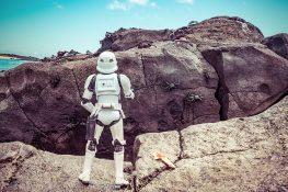 Ecuador Santa Cruz Galapagos Surfing Stormtroopers Crabs Backpacking Backpacker Travel