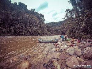 Ecuador Tena Jondachi River Rafting Break